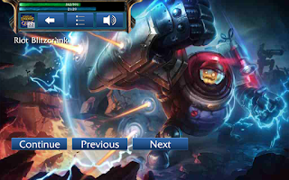 Screenshot of LoL Champion Quiz