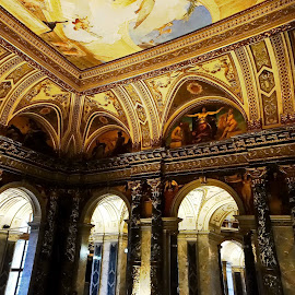 Art History Museum, Vienna by Dragana Jankovic - Buildings & Architecture Architectural Detail ( building, art history museum vienna, ceiling, architectural detail, historical, architecture, Architecture, Ceilings, Ceiling, Buildings, Building )