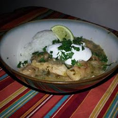 Pork Stew in Green Salsa