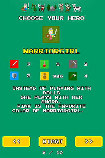Swipe Quest - screenshot