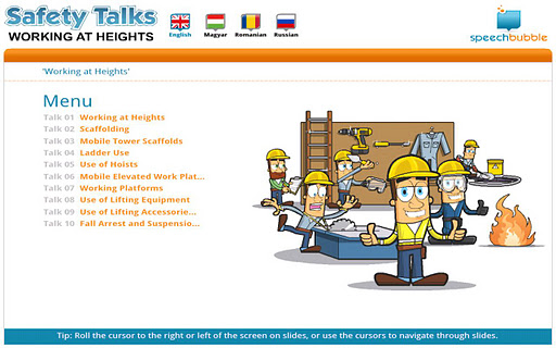 Safety Talks - WH Hungarian