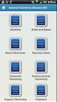 Screenshot of General Chemistry Glossary BSS