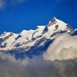 Kangchenjunga by Kausik Paul - Landscapes Mountains & Hills