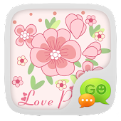Free GO SMS Pro Love Petal Theme EX APK for Windows 8