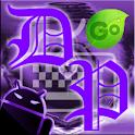 GOKeyboard Theme - DeepPurple