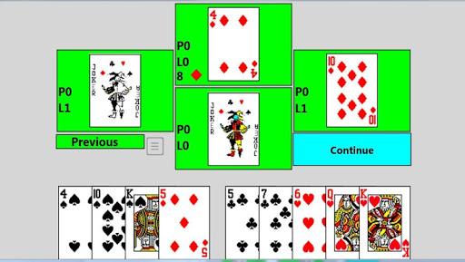 500 Card game full - screenshot