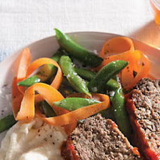 Browned Butter Peas and Carrots