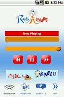 Screenshot of Radio Adhurs