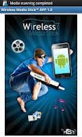 Screenshot of Wireless Media Stick Free