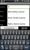 Screenshot of Poker Log