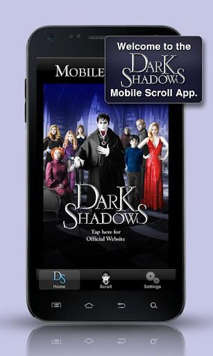 Dark Shadows Mobile Scroll