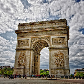 Arc De Triomphe by John Phielix - Buildings & Architecture Statues & Monuments (  )
