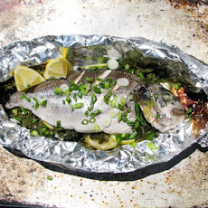 Sunday Supper: Roast Fish Stuffed with Lemon and Herbs