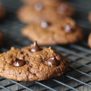 Protein Pumpkin Chocolate Chip Cookies