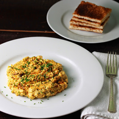 Scrambled Eggs with Chimichurri