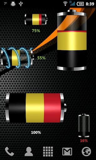 比利時 - 國旗電池小工具