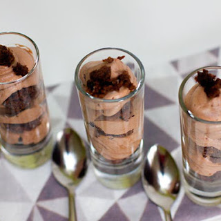 Brownie Chocolate Mousse