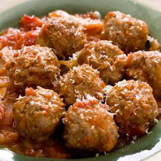 Braised Pork and Fennel Meatballs