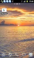 Screenshot of Sunset Beach Live Wallpaper