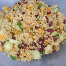 Dried Cherry Couscous Salad