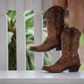 Cowboy Boots by Carol Elaine - People Fashion ( feet, boots, artistic, object )