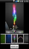 Screenshot of Rainbow Go Launcher theme