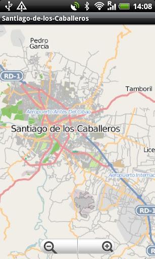 Santiago-de-los-Caballeros Map