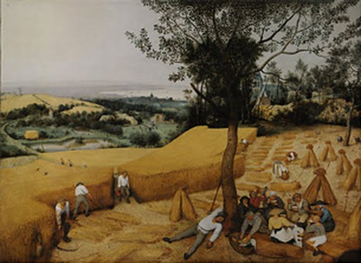 The Harvesters, Pieter Bruegel the Elder