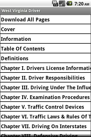 West Virginia Driver Handbook