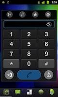 Screenshot of Speed Dial Dark Widget