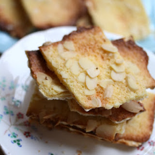 Almond Matzoh Toasts