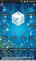 Screenshot of Circuit Board 3D Live Theme