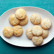 Iced Citrus Crackle Cookie