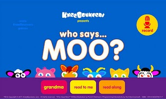 Screenshot of Who Says Moo?