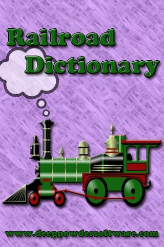 Railroad Dictionary