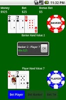 Screenshot of Baccarat (Free)