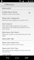 Screenshot of Australia News Alerts
