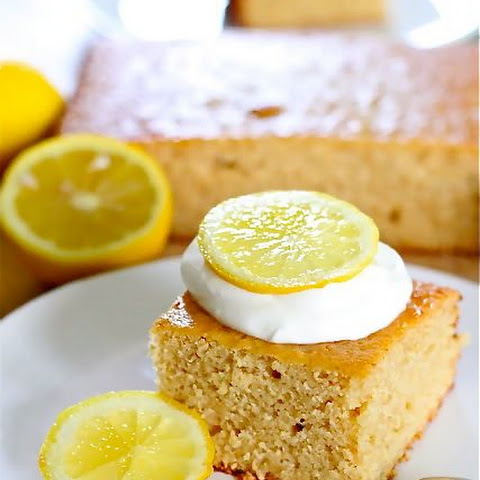 Whole Grain Lemonade Cake And How To Make Your Own Oat Flour