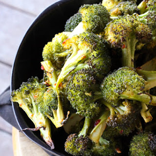 Spicy Asian Broccoli