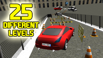 Screenshot of 3D Car Parking