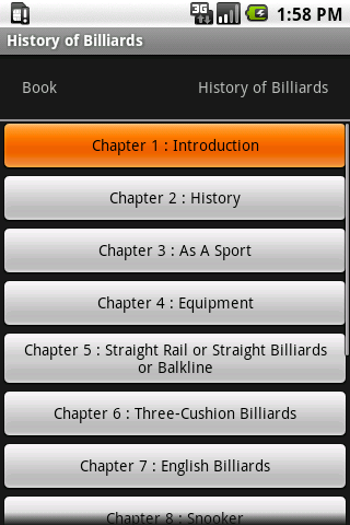 History of Billiards