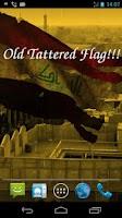 Screenshot of 3D Iraq Flag Live Wallpaper