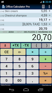 Office Calculator Pro screenshot for Android