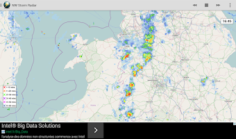 Screenshot of Netweather Storm Radar