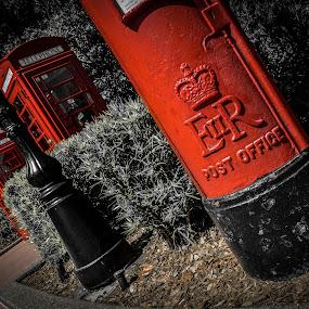 What's the area code again? by David Whitehead - City,  Street & Park  Amusement Parks ( england, magic, red, castle, waltdisneyworld, disney, universe, telephone )