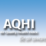 Air Quality Health Index for laptop