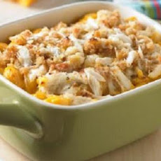 Delux Mac and Cheese With Shrimp and Crab