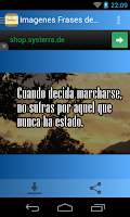Screenshot of Imagenes Frases de Despedida