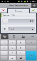 Screenshot of CashTrack