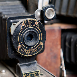 Eastman 1A by Alan Roseman - Artistic Objects Other Objects ( old camera, lenses, bellows, old, days gone by, camera, antique camera, kodak, vest pocket, antique,  )